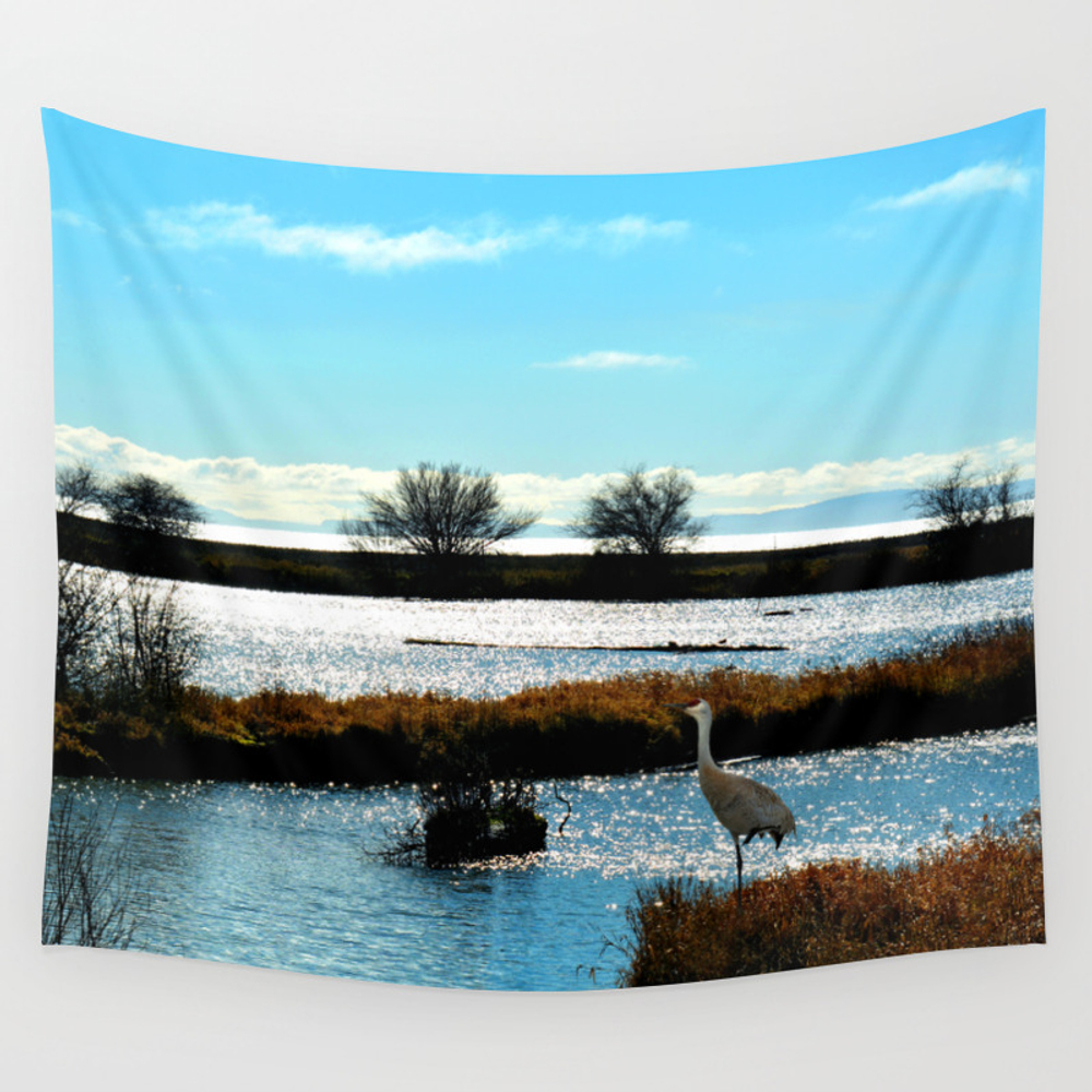 Waiting For Supper Wall Tapestry by Lena127 TPS3734892