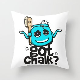 Got Chalk? Throw Pillow