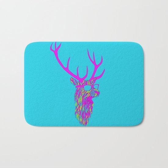Party deer Bath Mat