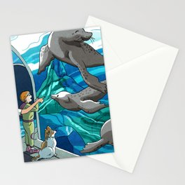 St. Louis Zoo Sea Lions Stationery Cards