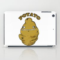 potato iPad Cases featuring POTATO  by Michelena