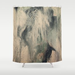 Exhaling II Shower Curtain