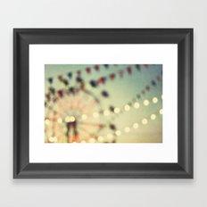 carnival dreams Framed Art Print