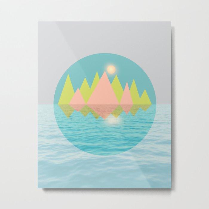 Spring Landscape IV Metal Print