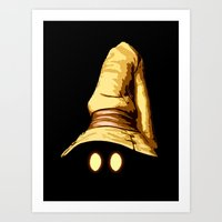 final fantasy Art Prints featuring Vivi - Final Fantasy by Vortha