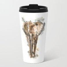 Watercolor elephant II Travel Mug