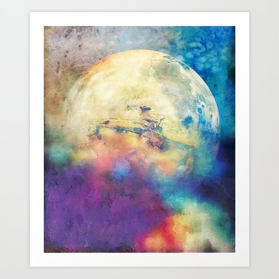 The MOON 3 Art Print