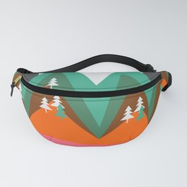 Bears walking home Fanny Pack