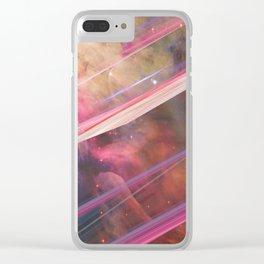 Twisted Nebula Clear iPhone Case