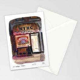 New York Hardcore Tattoos Stationery Cards