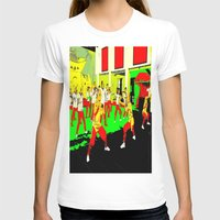 workout T-shirts featuring Workout by lookiz