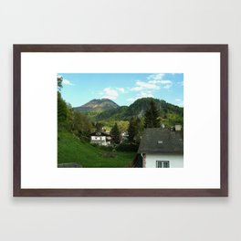 G'Morning Salzburg Framed Art Print
