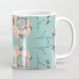 Mirrored Floral Coffee Mug
