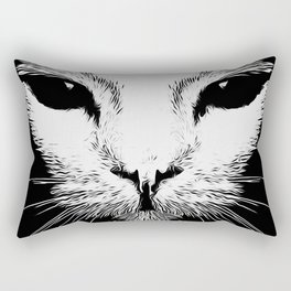 Alien Cat Rectangular Pillow