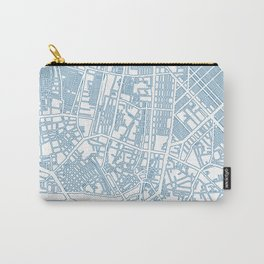Street MAP Manila // Blue Carry-All Pouch