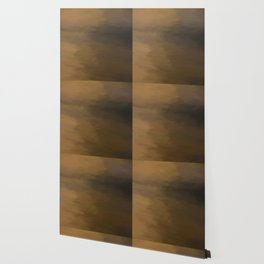 Abstract Beige and Brown to Black Shades.  Like painted on canvas. Wallpaper
