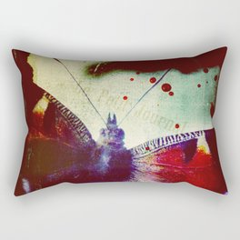 Fear of Butterflies Rectangular Pillow