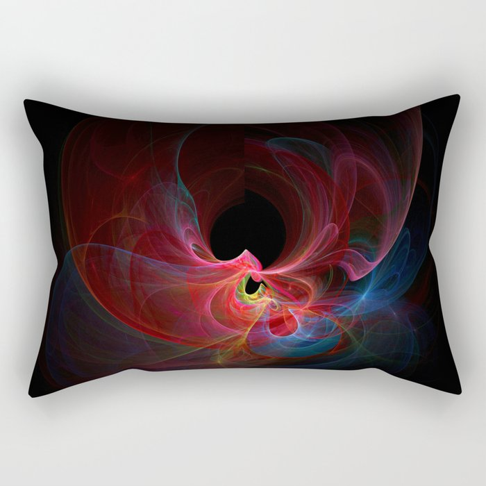 Fractal - 33 Colorful Rectangular Pillow