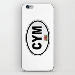 CYM Plate iPhone Skin