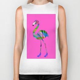 Chic Flamingo Biker Tank