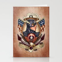 forever young Stationery Cards featuring FOREVER YOUNG by Tim Shumate