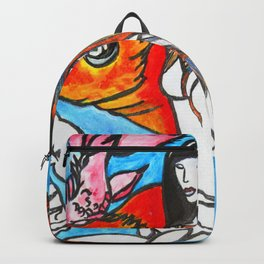 The Sea King's Daughter #society6 #decor #buyart Backpack