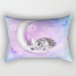 Sweet little kitten Rectangular Pillow