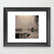 Charles Lagoon View 1 Framed Art Print