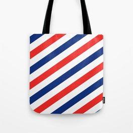 Barber Stripes Tote Bag