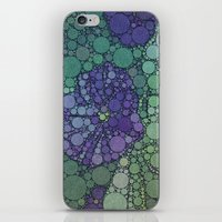 potato iPhone & iPod Skins featuring Percolated Purple Potato Flower by Charma Rose