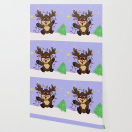 Little Reindeer Wallpaper