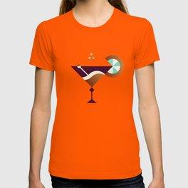 Cocktail // Geometric Minimalist Illustration T-shirt