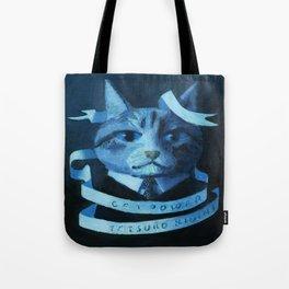 Cat Power Tote Bag