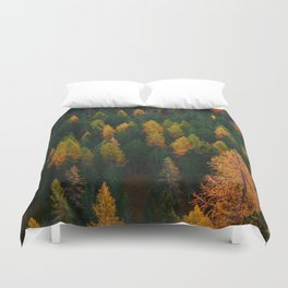 The Evergreens (Color) Duvet Cover