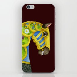 Carousel Horse - Neptune iPhone Skin