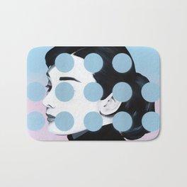 Audrey (Dots) by Famous When Dead Bath Mat