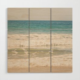 Beach Waves Wood Wall Art