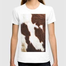 Cowhide Brown Spots T-shirt
