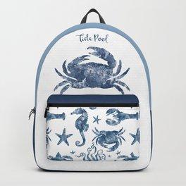 Crab Tide Pool habitat Backpack