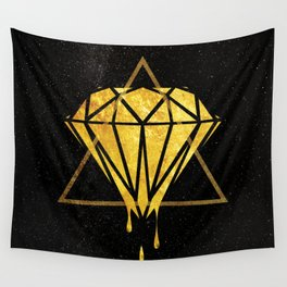 Gold Universe Wall Tapestry