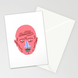 PINK FACE Stationery Cards