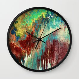 Colormadness Wall Clock