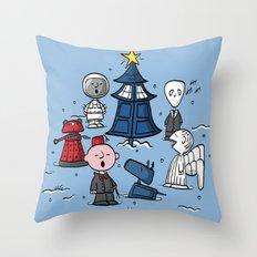 A Charlie Who Christmas Throw Pillow