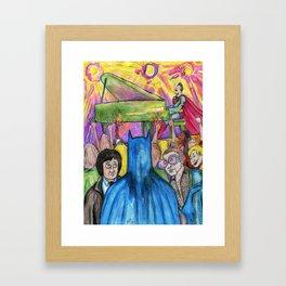 Super Piano Framed Art Print