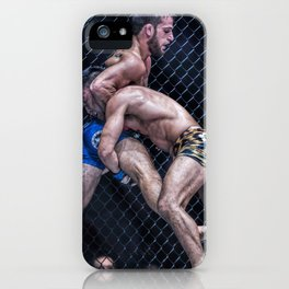 This is MMA. iPhone Case