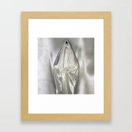 "say no to patriarchy / ""the virgin"" Framed Art Print"