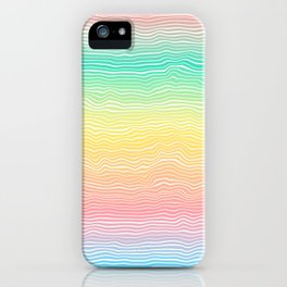 Rainbow Colours iPhone Case