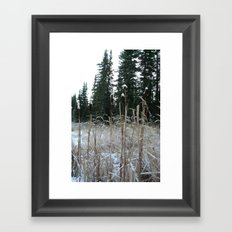 Falltime in Watervalley Framed Art Print
