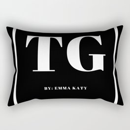 Trendy Gazette Rectangular Pillow