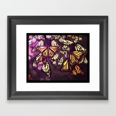 The Monarch (variation) Framed Art Print